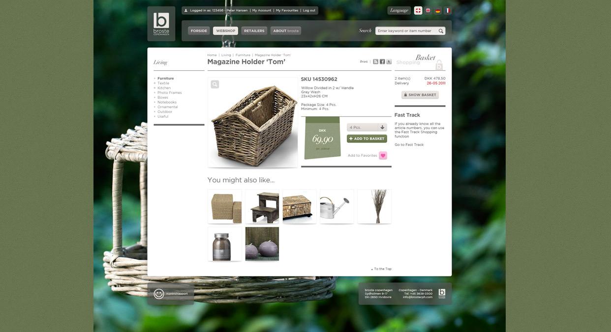 Webshop – Broste Copenhagen