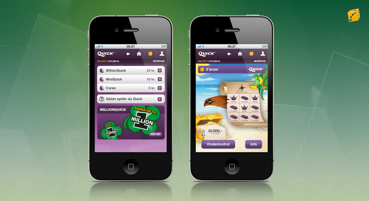 Danske Spil Mobil App