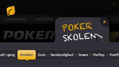 Danske Spil Poker, Pokerskolen